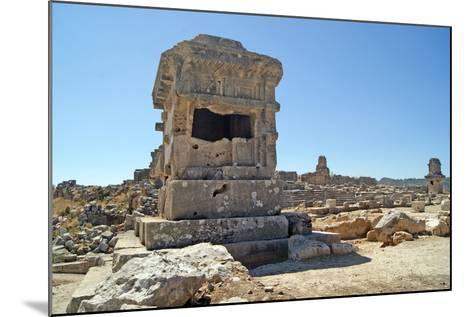 Pillar Tomb, Xanthos, Turkey--Mounted Photographic Print