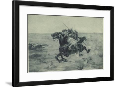 The Abduction--Framed Art Print