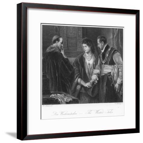 Scene from the Winter's Tale--Framed Art Print