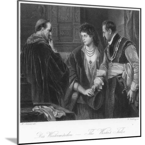Scene from the Winter's Tale--Mounted Giclee Print
