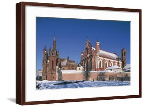 Lithuania, Vilnius, Old Town--Framed Art Print