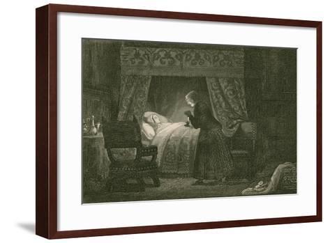 Judith Malmayus Meditating the Murder of Amabel-John Franklin-Framed Art Print