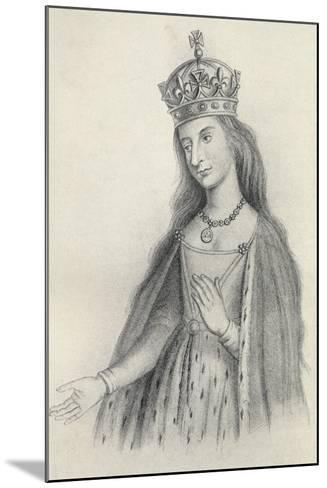 Catherine of Valois--Mounted Giclee Print