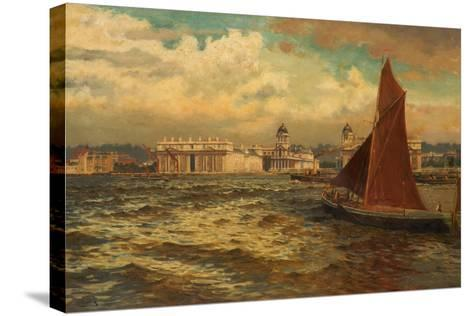 Off Greenwich, London, 1897-William H. Bartlett-Stretched Canvas Print