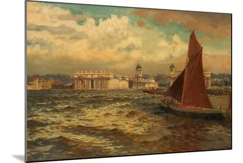 Off Greenwich, London, 1897-William H. Bartlett-Mounted Giclee Print