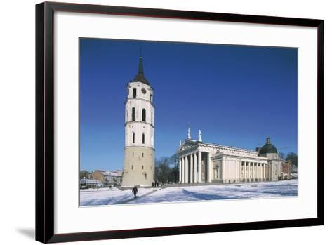 Lithuania, Vilnius, Old Town, Cathedral--Framed Art Print