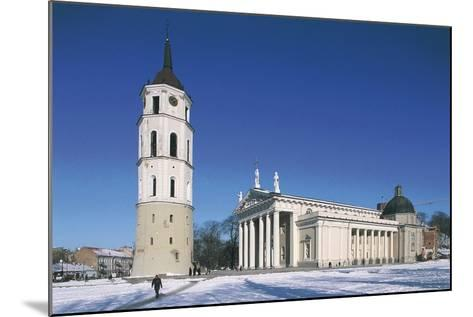 Lithuania, Vilnius, Old Town, Cathedral--Mounted Giclee Print