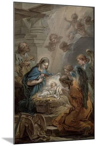 Nativity-Carle van Loo-Mounted Giclee Print