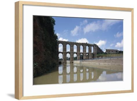 Arches of Aqueduct at Nepi--Framed Art Print