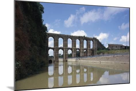 Arches of Aqueduct at Nepi--Mounted Giclee Print