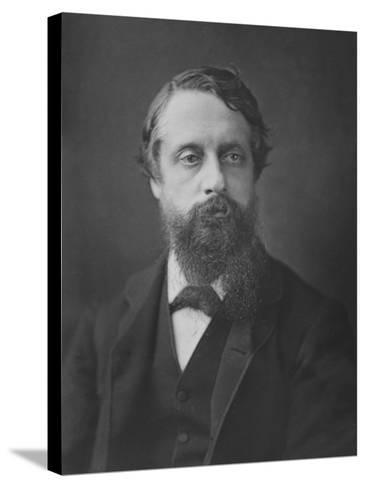 Lord Frederick Cavendish, C.1880--Stretched Canvas Print