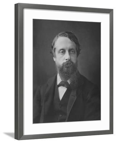 Lord Frederick Cavendish, C.1880--Framed Art Print