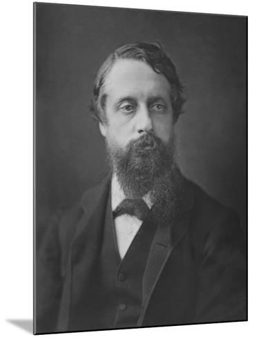 Lord Frederick Cavendish, C.1880--Mounted Photographic Print