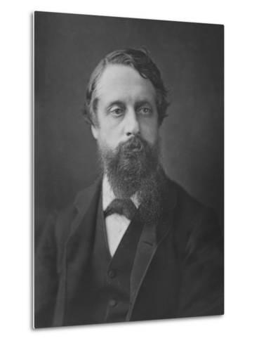 Lord Frederick Cavendish, C.1880--Metal Print