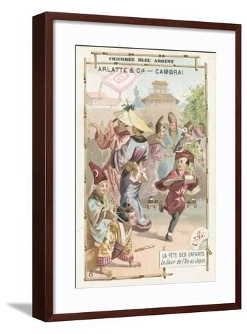 Children's Day Festival, Japan--Framed Art Print