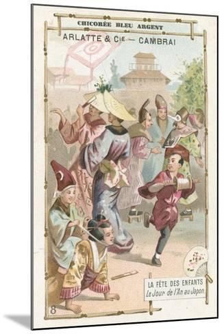 Children's Day Festival, Japan--Mounted Giclee Print