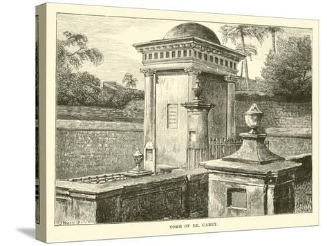 Tomb of Dr Carey--Stretched Canvas Print
