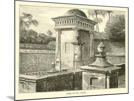 Tomb of Dr Carey--Mounted Giclee Print