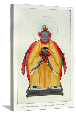 Confucius--Stretched Canvas Print