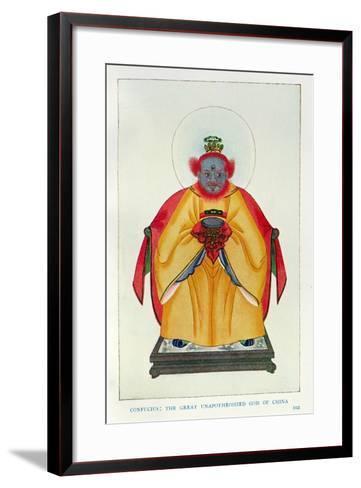 Confucius--Framed Art Print