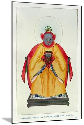 Confucius--Mounted Giclee Print