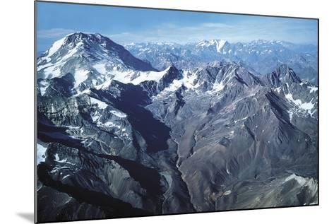 The Andes and Aconcagua--Mounted Photographic Print