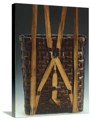 Basket--Stretched Canvas Print