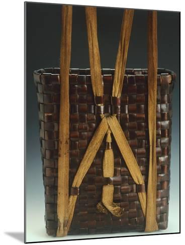 Basket--Mounted Giclee Print