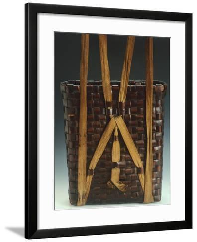 Basket--Framed Art Print