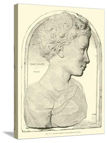 Bas Relief Attributed to Jean Goujon--Stretched Canvas Print