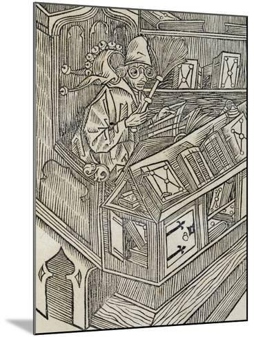 Inutiltas Librorum, from Ship of Fools--Mounted Giclee Print