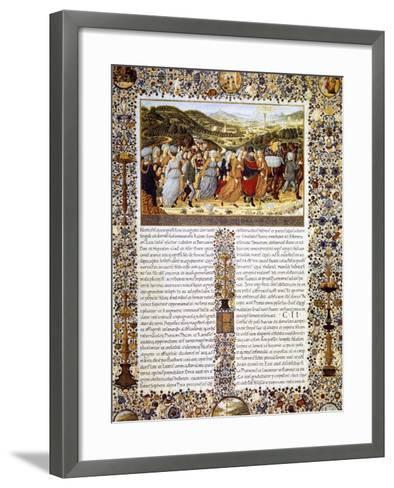 Urbinate Bible--Framed Art Print