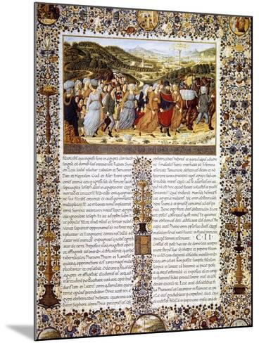Urbinate Bible--Mounted Giclee Print