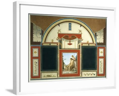 Venus and Wounded Adonis-Anton Raphael Mengs-Framed Art Print