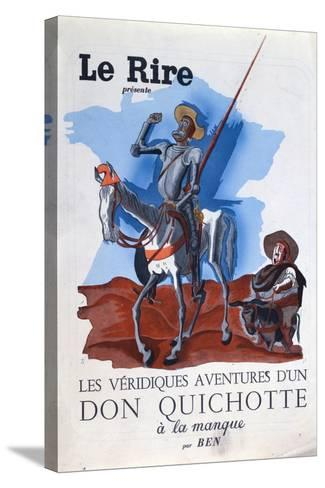 Leon Blum--Stretched Canvas Print