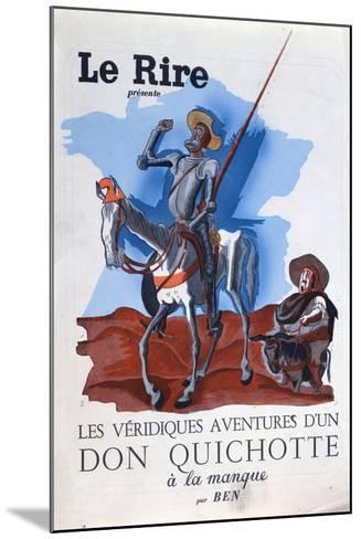 Leon Blum--Mounted Giclee Print