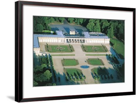 France, Aerial View of Palace of Versailles--Framed Art Print