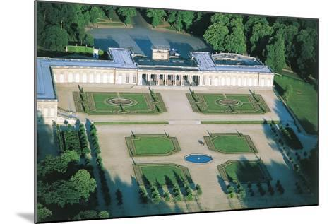 France, Aerial View of Palace of Versailles--Mounted Photographic Print