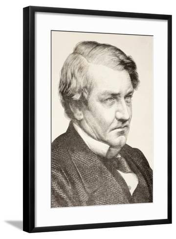 Richard Bourke--Framed Art Print