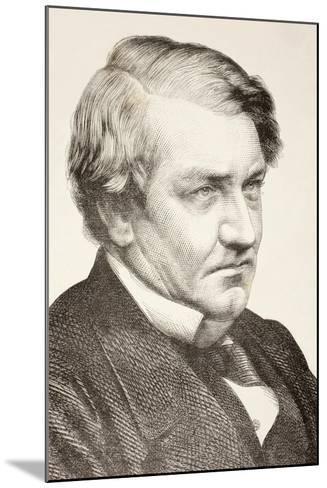 Richard Bourke--Mounted Giclee Print