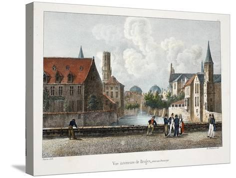 Vue Interieure De Bruges, C.1895--Stretched Canvas Print