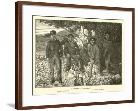 A Significant Contrast--Framed Art Print