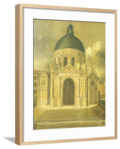 The Basilica of St Mary of Health--Framed Art Print