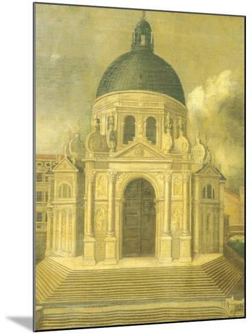 The Basilica of St Mary of Health--Mounted Giclee Print