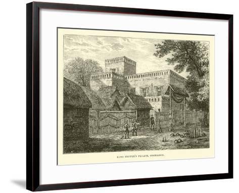 King Coffee's Palace, Coomassie--Framed Art Print