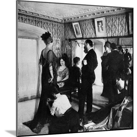 Jacques Doucet in His Atelier, 1910--Mounted Photographic Print