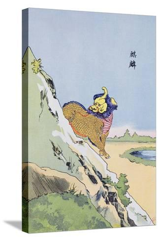 Qilin, C.1920--Stretched Canvas Print