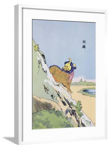 Qilin, C.1920--Framed Art Print