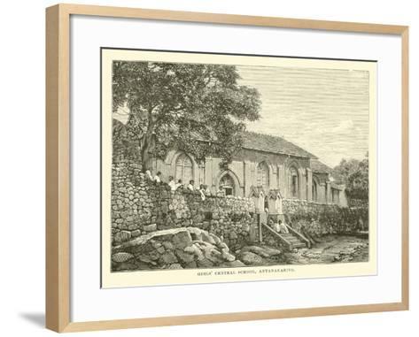 Girls' Central School, Antananarivo--Framed Art Print