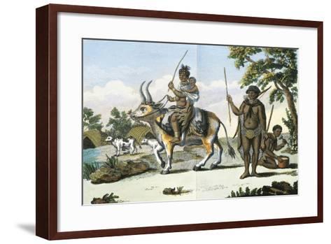 Hottentot--Framed Art Print